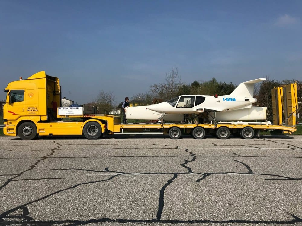 trasporto merci pesanti padova