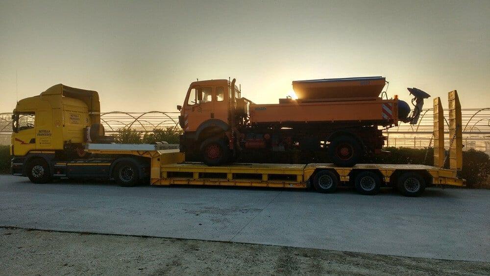 trasporto mezzi agricoli