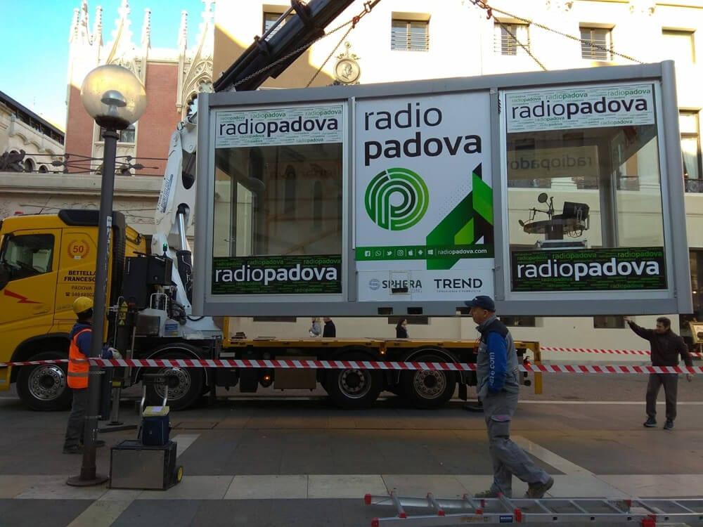 Movimentazione manufatti radio padova