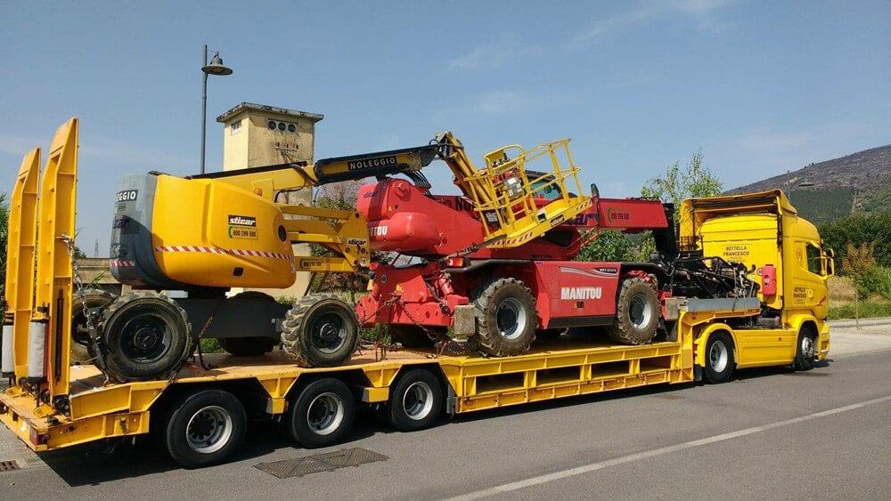 trasporto mezzi agricoli padova