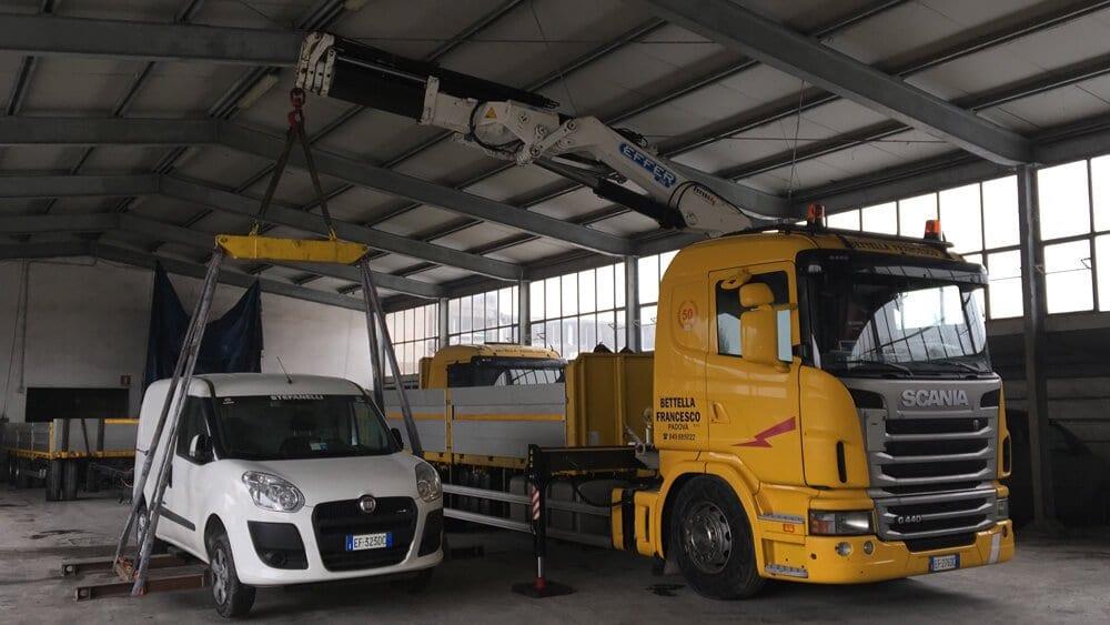 trasporto macchine padova